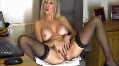 Masterbating, Mature nylon