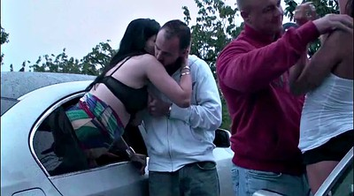 Gangbang, Dogging, Dogs, Car blowjob, Gang banged, Dog sex