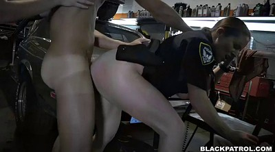 Police, Police femdom, Femdom blowjob, Shop, Whore