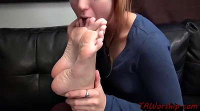 Foot worship, Foot lesbian, Blonde feet