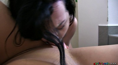 Casting, Sexy, Lesbian licking ass