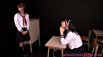 Japanese lesbians, Japanese cosplay, Lesbian cosplay