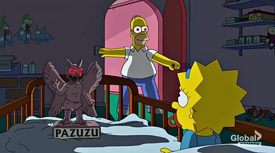 Cartoon, Killer, Simpsons