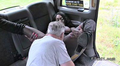 Taxi, Rimming, Fake, Huge ass, Fake driver, Ass rimming