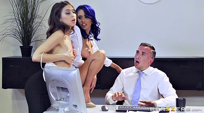 Lana rhoades, Secretary, Office sex, Lana rhoades gangbang, Janice griffith