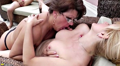 Granny, Mother, Mature lesbian, Lesbian pissing, Pissed on, Lesbian piss