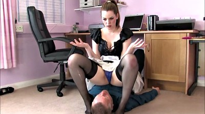 Maid, Skirt, Face sitting, Under, Under skirt