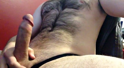 Daddy, Hairy, Daddies gay, Cum in panties, Cum in her, Hairy panty