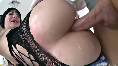 Deep throat, Fishnet oil, Closeup, Pantyhose fuck, Fuck pantyhose