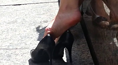 High heels, Candid, High, High-heeled shoes, Footing, High shoe