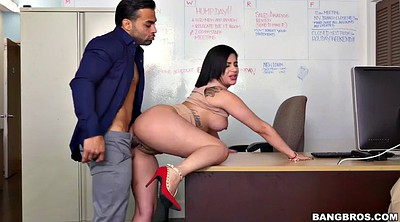 Office, Kitty, Work, Caprice, Pussy job, Chubby facial