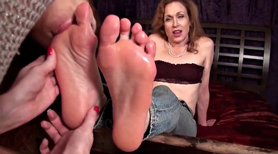 Aunt, Foot, Feet worship