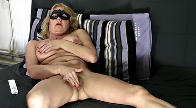 Show, Shaving pussy, Mature blonde, Hairy mature pussy