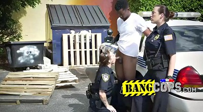 Police, Black bbw, Bbw ebony, Huge black cock