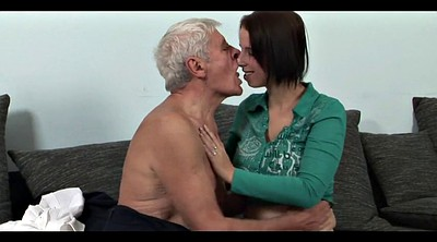 Old daddy, Sixty, Mature kiss