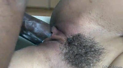 Sex, Monster black cock, Black hairy, Hazed, Hairy brunette, Ebony orgasm