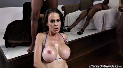 Bukkake, Milf dp, Interracial anal, Anal big boobs