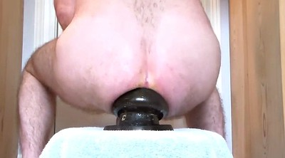 Gay, Prolapse, Anal fisting, Big ass solo, Fisting dildo, Ass milf
