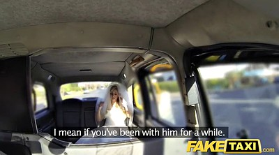 Bride, Fake taxi, Fake, Wedding