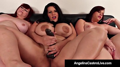 Angelina, Angelina castro, Bbw threesome, Sex toys