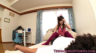Japanese handjob, Shy, Jerk, Jerking off, Asian guy