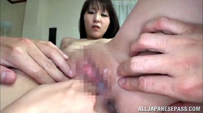 Double penetration, Shaved asian