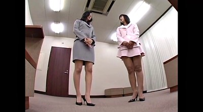 Secretary, Asian pantyhose, Asian secretary
