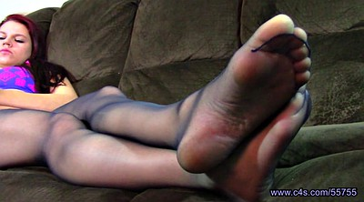 Pantyhose, Nylon feet, Nylon foot, Pantyhose foot, Teen nylon, Pantyhose fetish