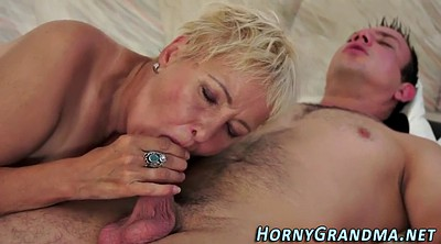 Spit, Spitting, Blonde mature