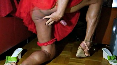Drink, Skirt, Skirts, Highheel, Cum drink