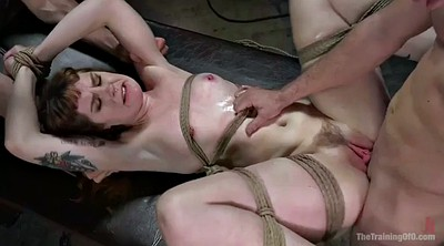 Spanking, Rope, Tied up fucked
