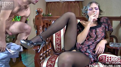 Nylon, Black pantyhose, Blowjob