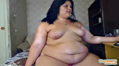 Bbw webcam, Fat girl