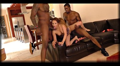 Double, Interracial threesome