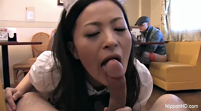 Restaurant, Japanese maid, Asian maid