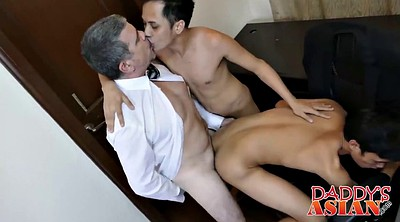 Twink, Asian daddy, Young old, Old daddy gay, Old and young gay, Asian young