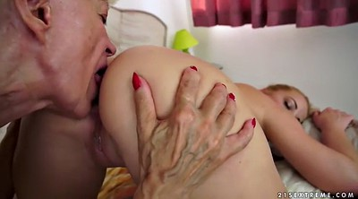 Mature and young lesbian, Hd granny