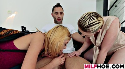 Milf threesome, Mommy