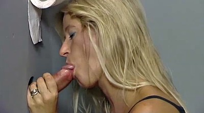 Toilet, Holed, Blonde blowjob, Toilets