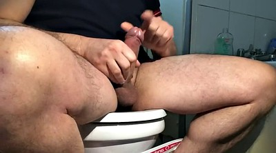 Toilet, Toilet voyeur, Toilet gay, Gay toilet, Jerk off