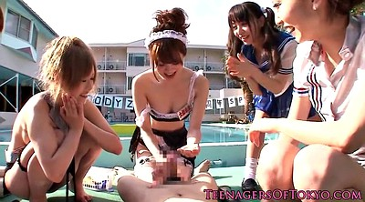 Japanese outdoor, Japanese gangbang, Costume