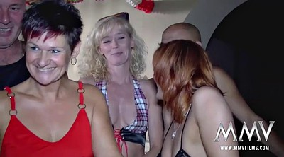 Swinger, Mature swinger, Granny group, Club, Club sex