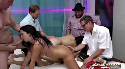 Groupsex, Extreme anal, Anal orgy