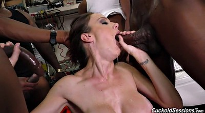 Cuckold, Office anal, Black anal