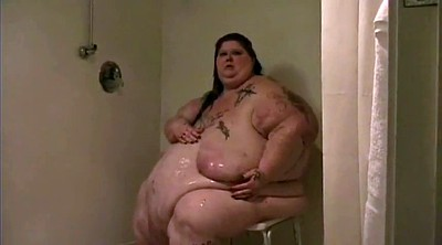 Take a shower, Bbw shower, Big fat