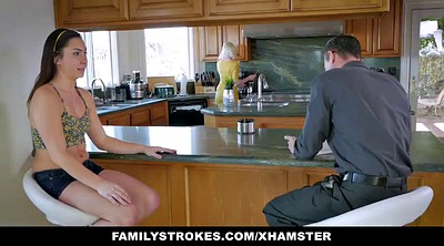 Dad, Step, Caught, Step dad, Familystrokes, Familystroke