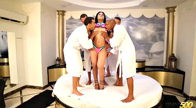 Transsexuals, Shemale gangbang, Big cock shemale