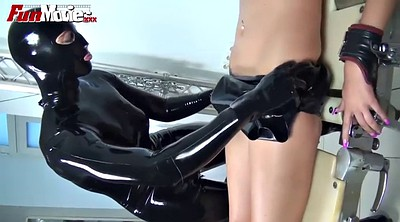 Movie, Latex fetish, Latex lesbian, Kinky latex, Bondage orgasm, Tits bondage