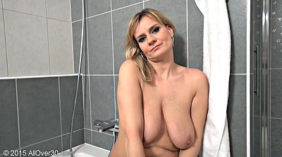 Mature mom, Mature shower, Mom shower, Milf shower, Busty mom, Big busty