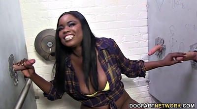Monroe, Gloryhole, Ebony gloryhole, Ebony feet